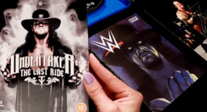 Hands On with WWE 'Undertaker: Last Ride' Collector's Edition Blu-ray