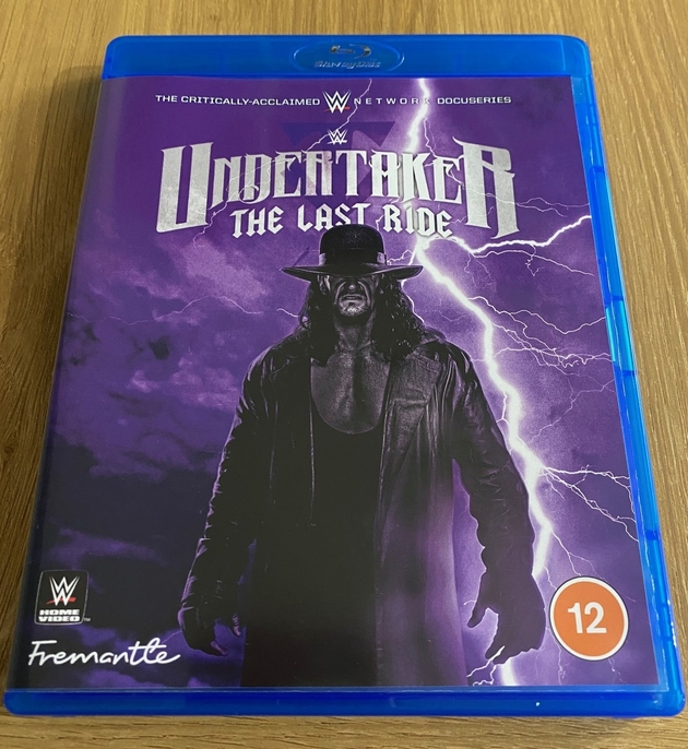 WWE 'Undertaker: The Last Ride' Blu-ray UK - Front Cover