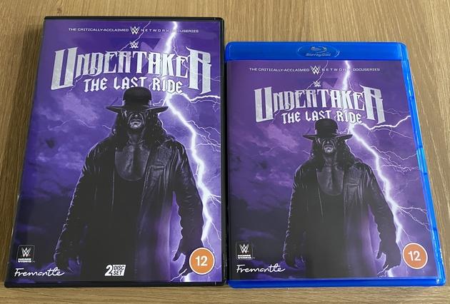 WWE 'Undertaker: The Last Ride' DVD & Blu-ray - UK Release