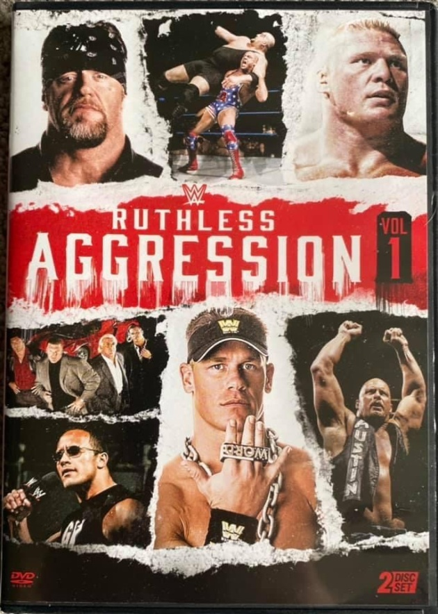 WWE 'Ruthless Aggression Vol. 1' DVD - Photos, Front Cover