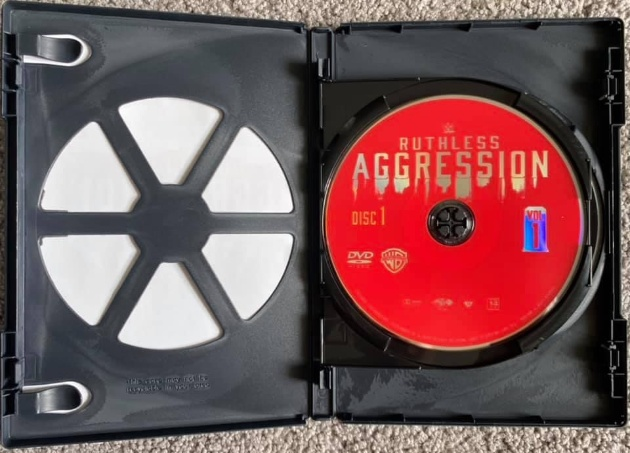 WWE 'Ruthless Aggression Vol. 1' DVD - Photos, Disc Artwork