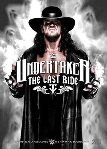 WWE Undertaker: The Last Ride DVD - Walmart Exclusive, Alternate Artwork