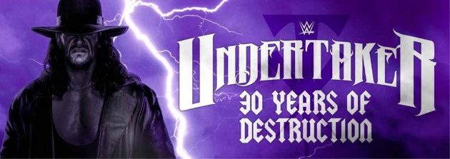 WWE Undertaker: 30 Years of Destruction - HMV Promotion