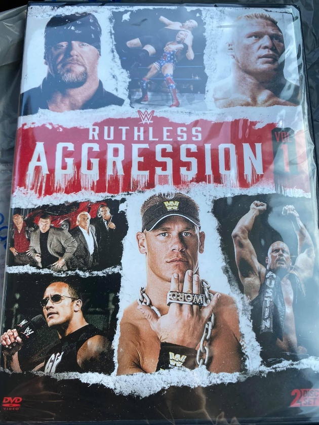 WWE 'Ruthless Aggression Vol. 1' DVD - Available Now!