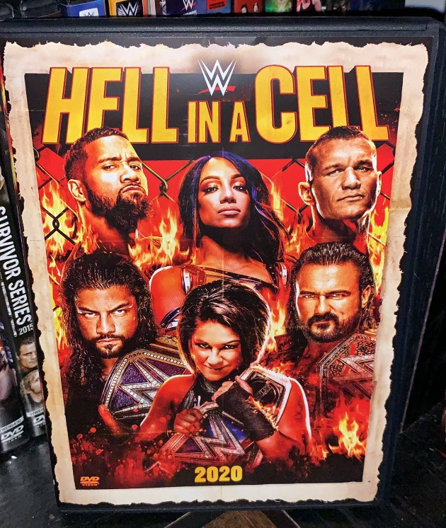 WWE Hell in a Cell 2020 DVD - Photos, Front Cover