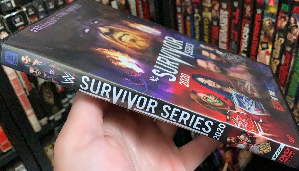 WWE Survivor Series 2020 DVD - Available Now!
