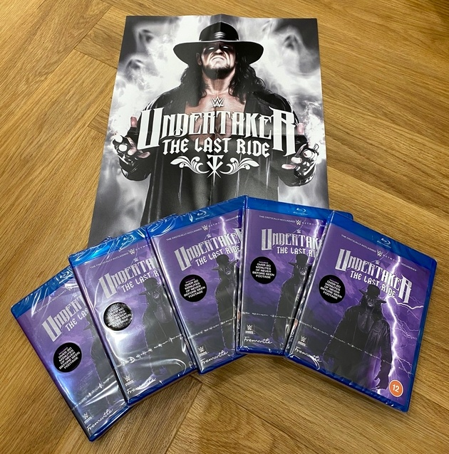 Win WWE's Undertaker Last Ride Blu-ray And A Poster!
