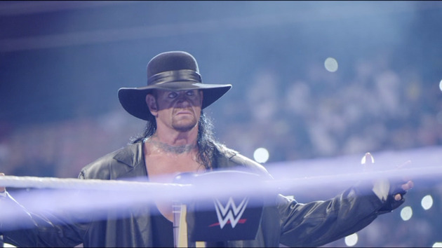 WWE - Close Up of The Undertaker's Entrance & Eye Roll!