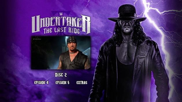 WWE 'Undertaker: The Last Ride' DVD - Episode Selection
