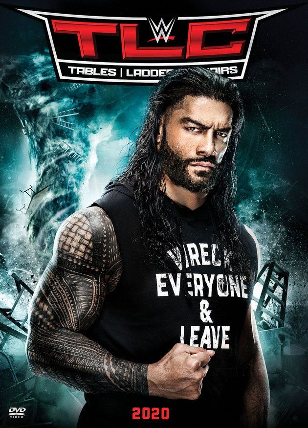 WWE TLC 2020 DVD - Front Cover Artwork, Roman Reigns