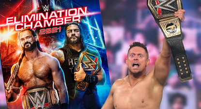 WWE Elimination Chamber 2021 DVD Cover Artwork Revealed - The Miz is Champion!