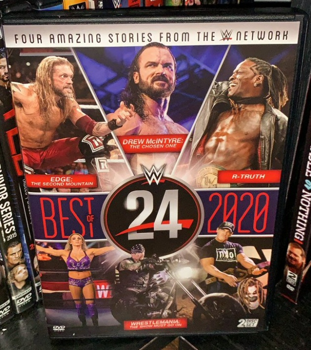 WWE 24: Best of 2020 DVD - Photos, Front Cover