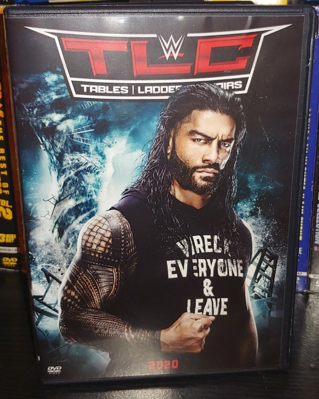 WWE TLC 2020 DVD - Photos, Front Cover