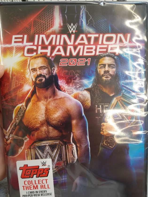 WWE Elimination Chamber 2021 DVD - First Look Photo