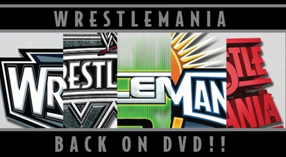 WWE WrestleMania 14, 16, 20, 22 & 24 DVDs To Be Re-Released!