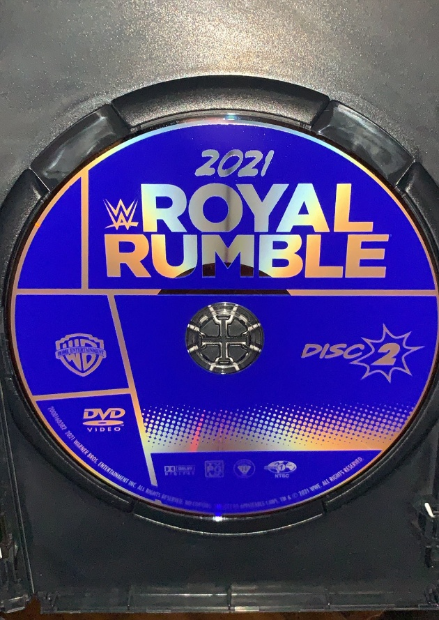 WWE Royal Rumble 2021 DVD - Photos, Disc Artwork