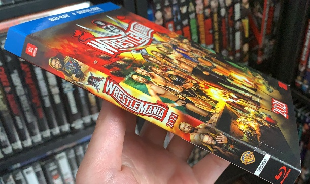 WWE WrestleMania 37 Blu-ray - In Stores Now!