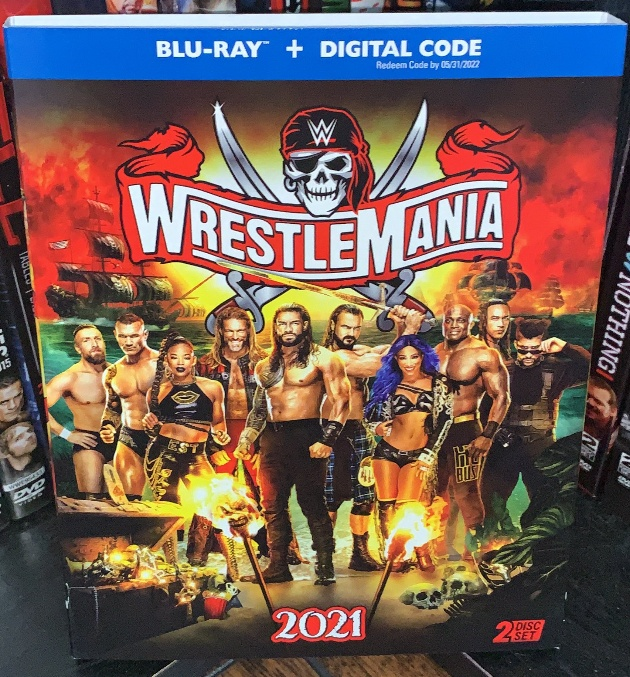 WWE WrestleMania 37 Blu-ray - Photos, Front Cover