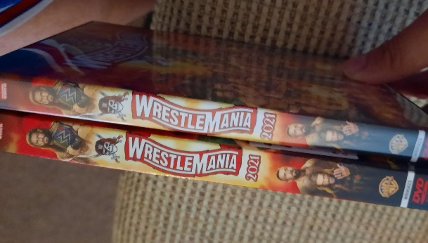 WWE WrestleMania 37 DVD & Blu-ray - Available Now!