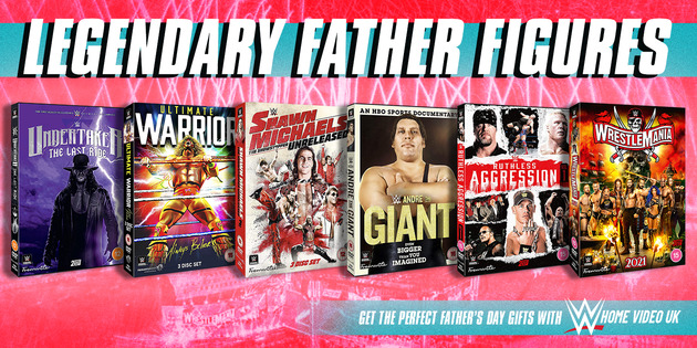 WWE DVD Father's Day Sale - Legendary Father Figures
