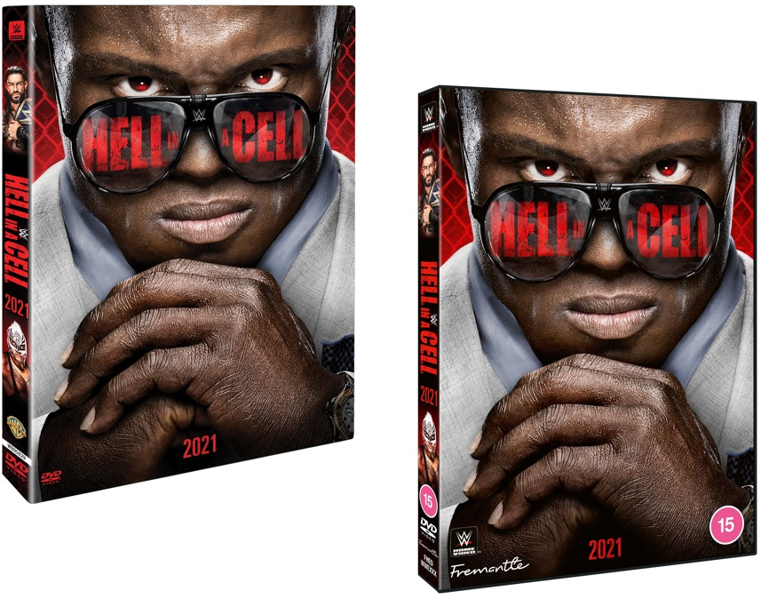 WWE Hell in a Cell 2021 DVD - USA and UK Box Artwork