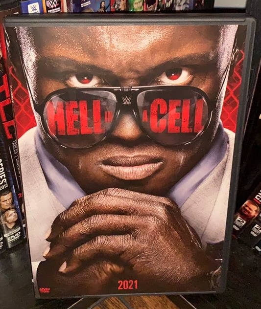 WWE Hell in a Cell 2021 DVD - Photos, Front Cover