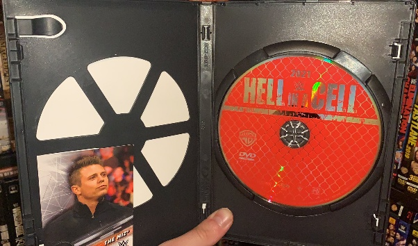 WWE Hell in a Cell 2021 DVD - Photos, Packaging Layout