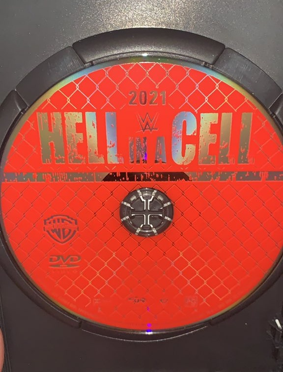 WWE Hell in a Cell 2021 DVD - Photos, Disc Artwork