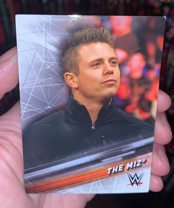 The Miz Topps Trading Card Inside WWE Hell in a Cell 2021 DVD
