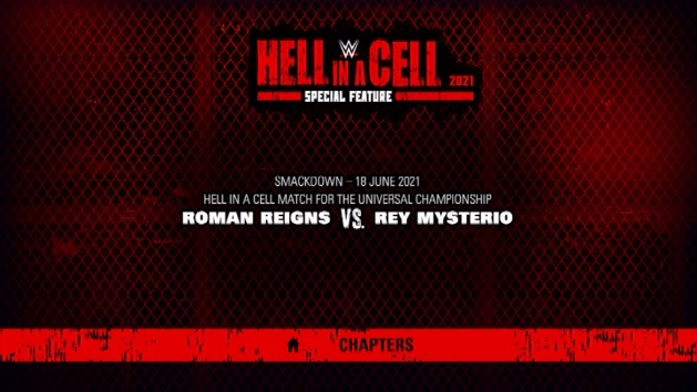WWE Hell in a Cell 2021 DVD - SmackDown Hell in a Cell Extra