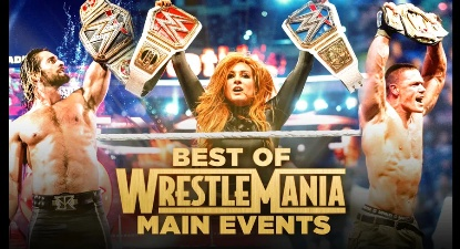 First Look at WWE 'WrestleMania Main Events' DVD