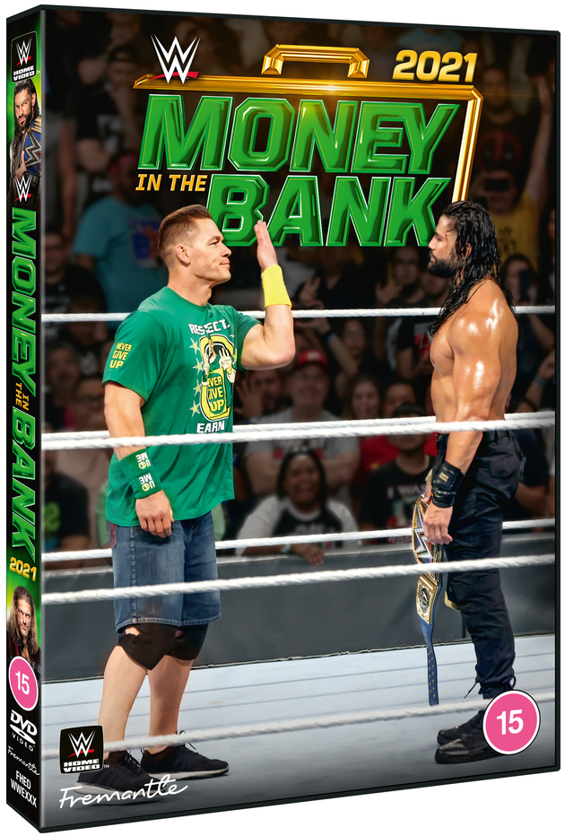WWE Money in the Bank 2021 DVD - Official Box Artwork