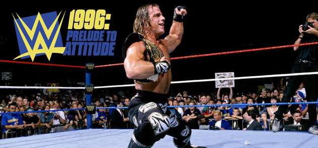 WWE - Shawn Michaels Entrance as WWF Champion in 1996