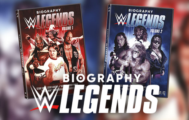 Biography WWE Legends Documentaries Coming to DVD!