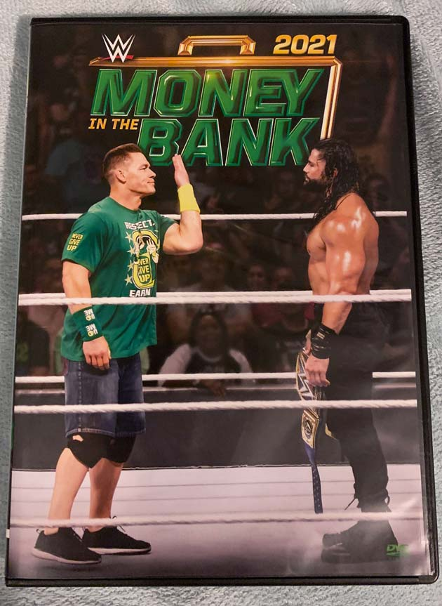 WWE Money in the Bank 2021 DVD - Photos, Front Cover