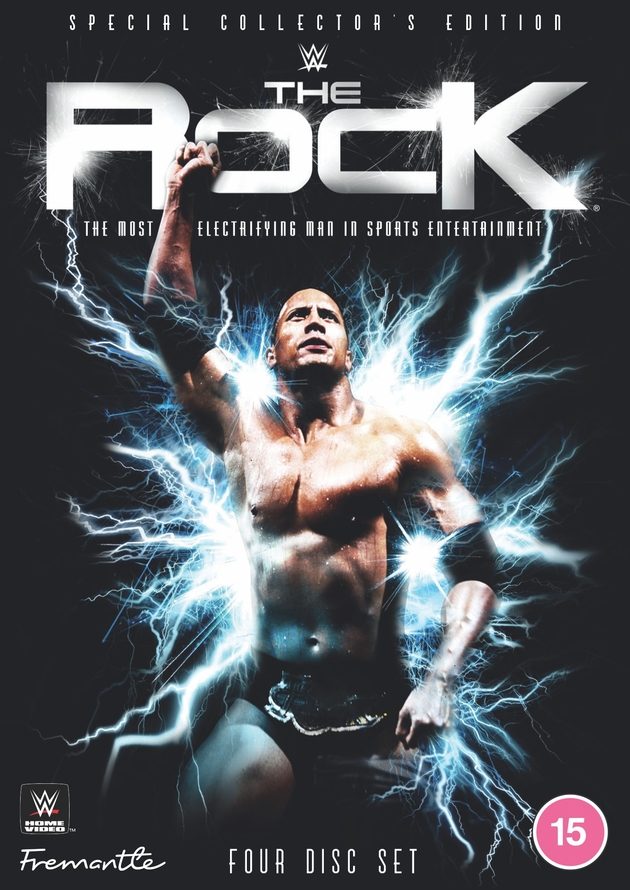 WWE The Rock: Most Electrifying Man DVD - Special Edition, 4 Disc UK Exclusive