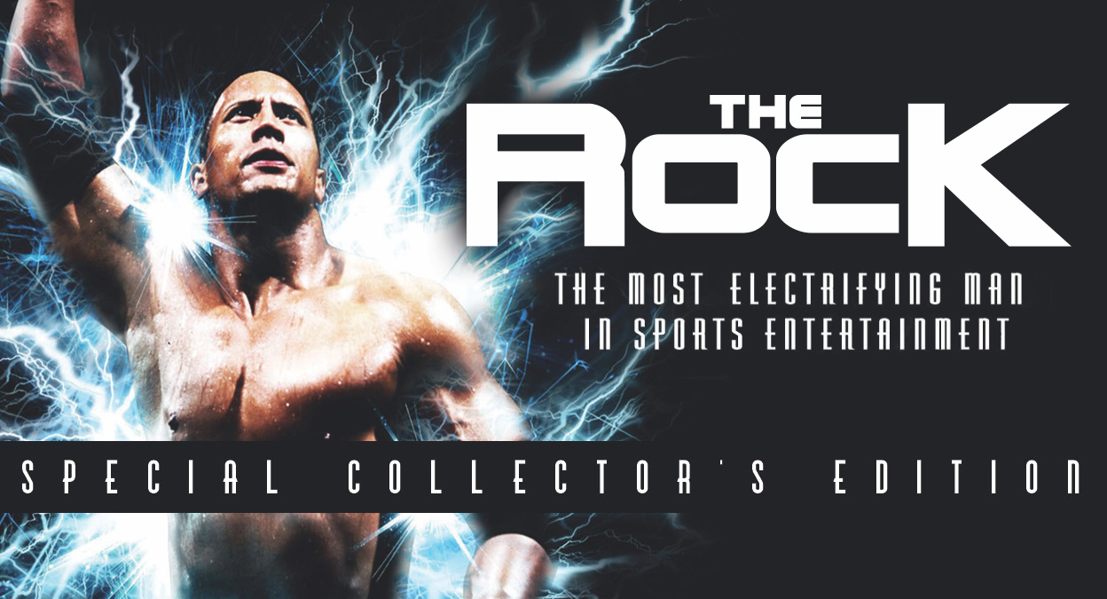 WWE The Rock: Most Electrifying Man: Special Collector's Edition DVD - Content Listing