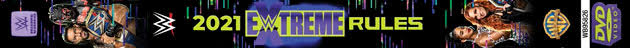 WWE Extreme Rules 2021 DVD - Spine Artwork