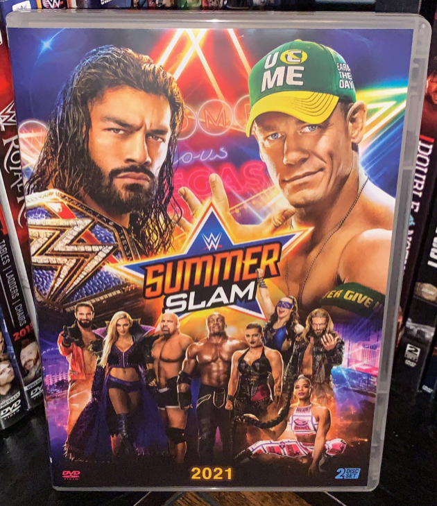 WWE SummerSlam 2021 DVD - Photos, Front Cover